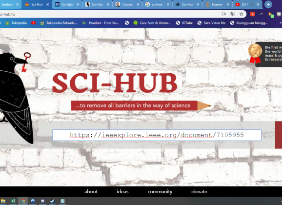 Download Jurnal Internasional IEEE – Elsevier Gratis dengan sci-hub