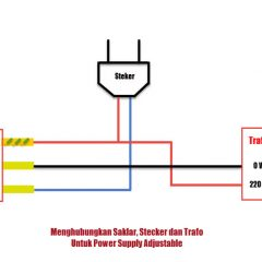 Cara Menghubungkan Trafo, Saklar dan Steker [Untuk Pemula]