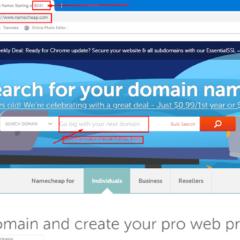 Domain .Com  Murah Dari Namecheap Cuma 0.88 Dollars Saja