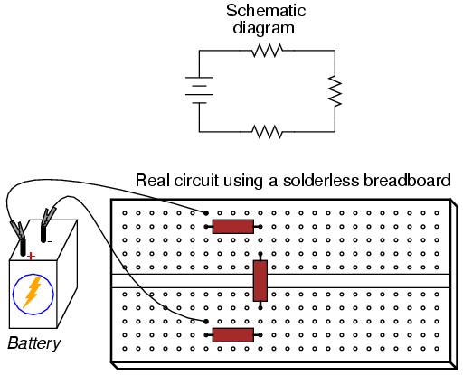 skematik breadboard