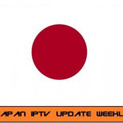 IPTV Japan M3U playlist (weekly Update)