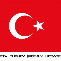 IPTV Turkey (TV Broadcast) update weekly