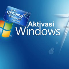 Tutorial Aktivasi Windows 7 Via Telepon (Product Key Original)