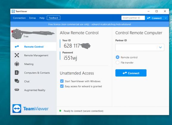 Install Teamviewer pada perangkat anda (Aplikasi Pengendali Jarak Jauh)